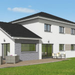 Maison bois moderne - 5 chambres, 172m², garage double